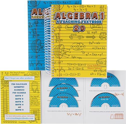 Teaching Textbook Algebra 1 | Homeschool Algebra 1