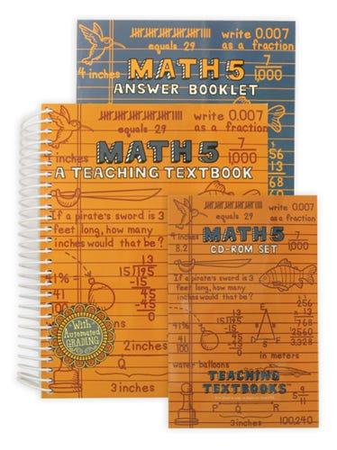 Teaching Textbooks Math 5 CD-Rom Set