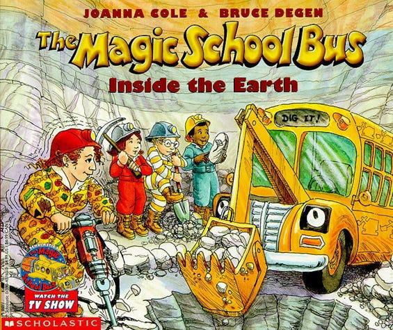 ... Photos - The Magic School Bus Inside The Earth Magic School Bus Series