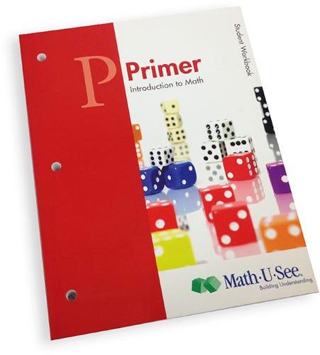 Math U See Primer Student Workbook