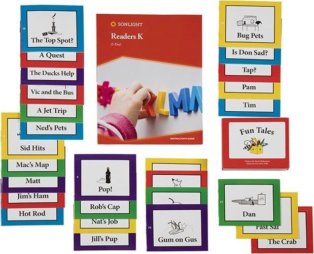Kindergarten Readers Kindergarten Reading Level Sonlight
