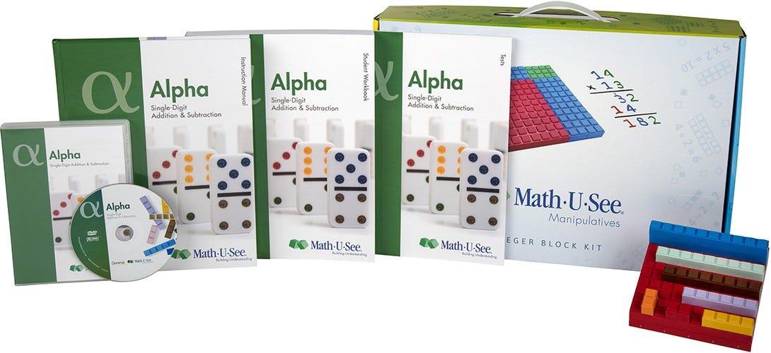 MathUSee Alpha Universal Set – Mathusee Worksheets